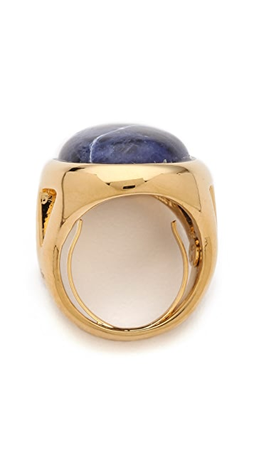 Kenneth Jay Lane Open Side Ring