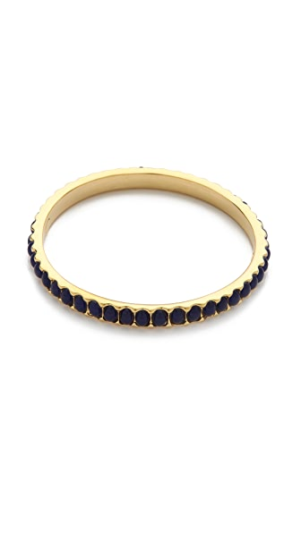 Kenneth Jay Lane Thin Bangle Bracelet