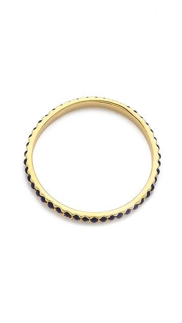 Kenneth Jay Lane Thin Bangle Bracelet