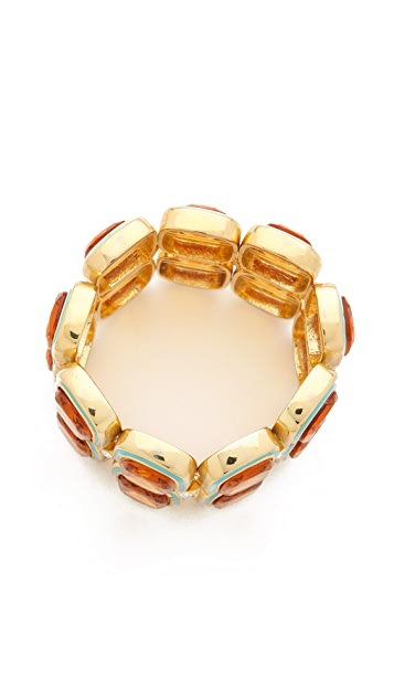Kenneth Jay Lane Stretch Bracelet