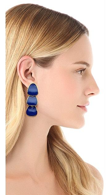 Kenneth Jay Lane Polished Drop Earrings