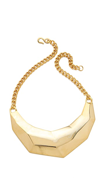 Kenneth Jay Lane Geometric Bib Necklace