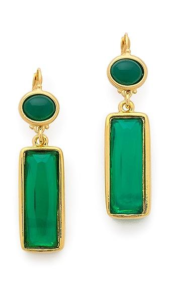 Kenneth Jay Lane Crystal Drop Earrings