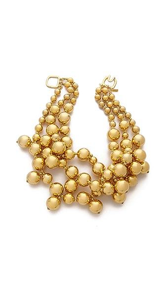 Kenneth Jay Lane Layered Beaded Necklace