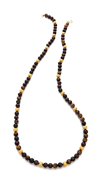 Kenneth Jay Lane Beaded Strand Necklace
