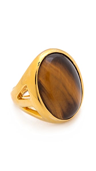 Kenneth Jay Lane Large Stone Ring