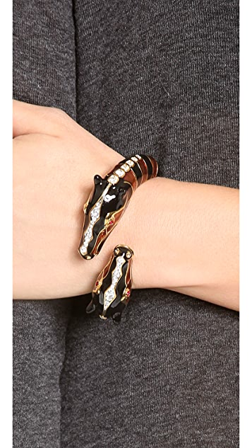 Kenneth Jay Lane Giraffe Bangle Bracelet