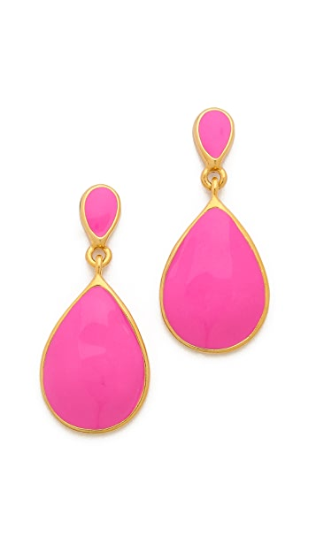 Kenneth Jay Lane Teardrop Earrings