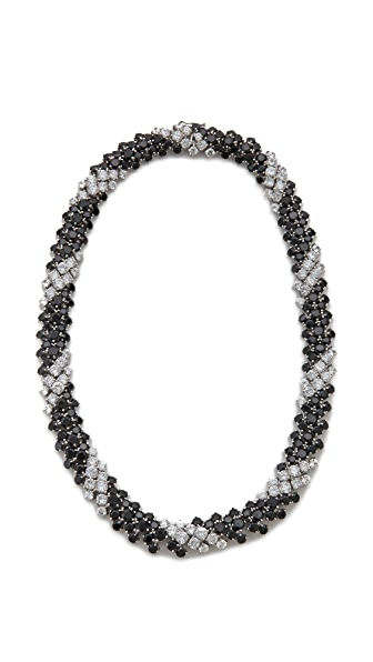 Kenneth Jay Lane Bombay Spiral Statement Necklace