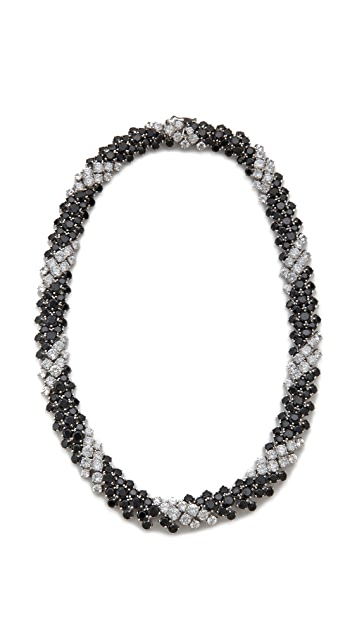 Kenneth Jay Lane Bombay Spiral Statement Necklace