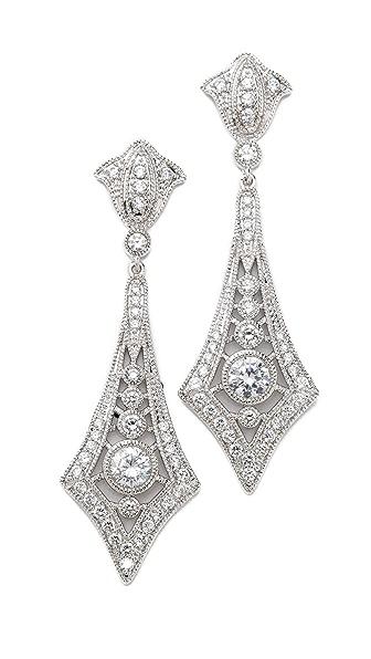 Kenneth Jay Lane Ceco Design Earrings