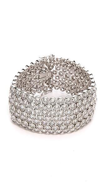 Kenneth Jay Lane Bezel Set Trend Bracelet