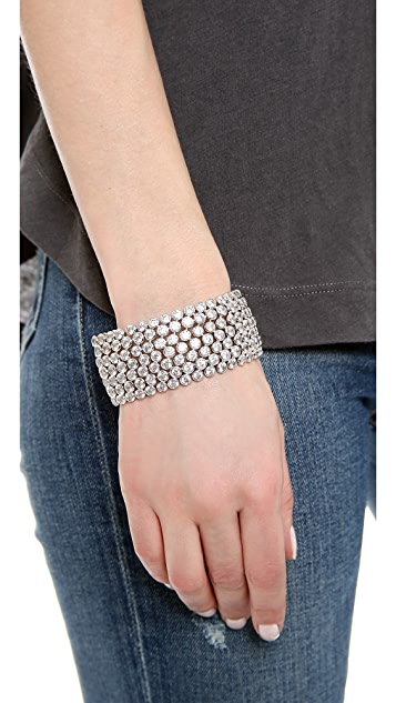 Kenneth Jay Lane Bezel Set Trend Bracelet