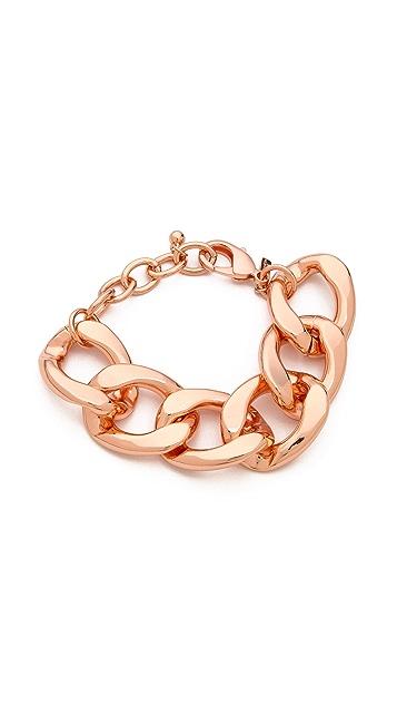 Kenneth Jay Lane Chain Link Bracelet
