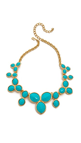 Kenneth Jay Lane Gem Statement Necklace
