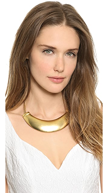 Kenneth Jay Lane Plate Necklace