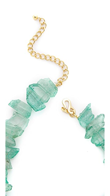 Kenneth Jay Lane Stone Statement Necklace