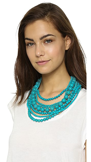 Kenneth Jay Lane Layered Necklace
