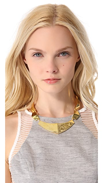 KNIGHT$ OF NEW YORK The Bleeker Armor Collar Necklace