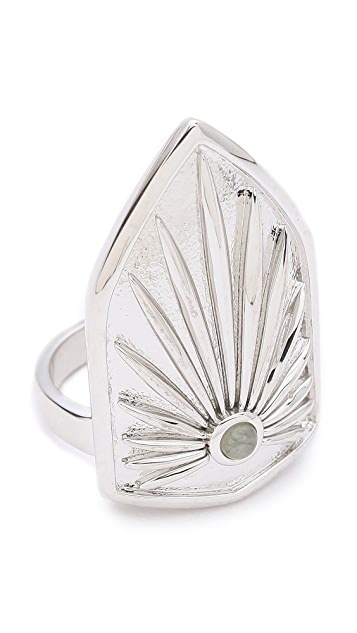 KNIGHT$ OF NEW YORK The Bowery Shield Ring
