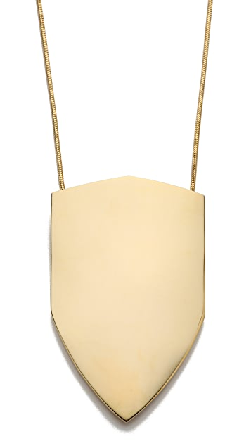 KNIGHT$ OF NEW YORK Grand Shield Pendant Necklace
