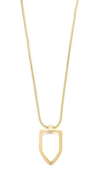 KNIGHT$ OF NEW YORK Rivington Shield Necklace