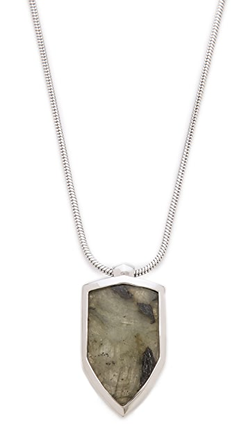 KNIGHT$ OF NEW YORK Orchard Shield Necklace