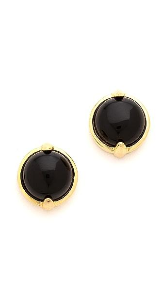 KNIGHT$ OF NEW YORK Pearl Sword & Stone Earrings
