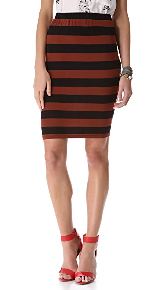 Knot Sisters Del Mar Stripe Skirt