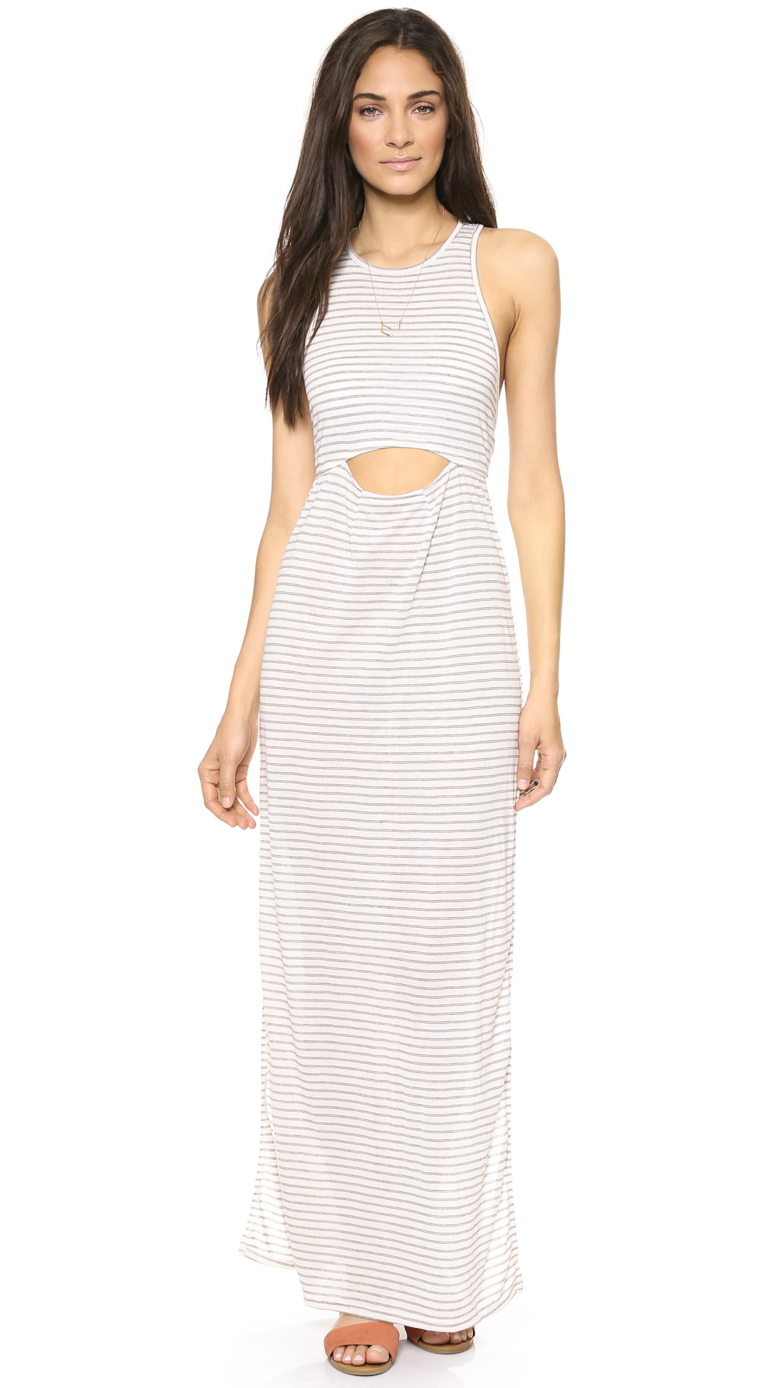 Knot Sisters Illusion Maxi Dress