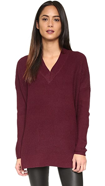 Knot Sisters Seattle Sweater - Zinfandel
