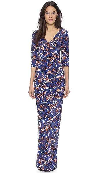 KENZO Torn Flowers Maxi Dress