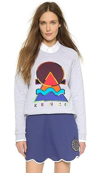 KENZO Embellished Kenzo Pullover Sweatshirt