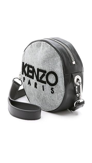 KENZO Denim Canteen Bag