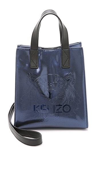 KENZO Embossed Small Bucket Bag