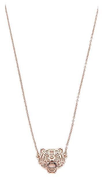 KENZO Mini Tiger Necklace