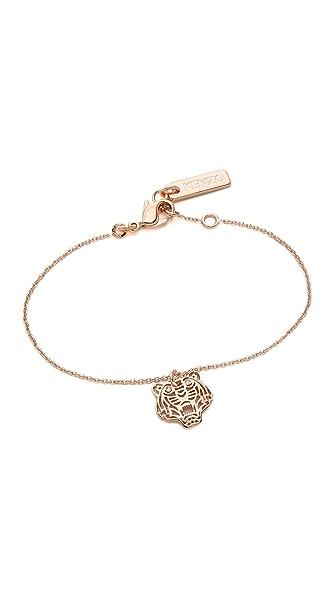 KENZO Mini Tiger Bracelet - Pink Gold