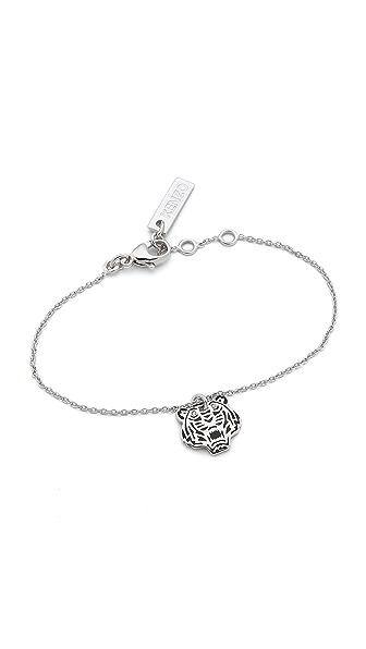 KENZO Mini Tiger Bracelet - Silver