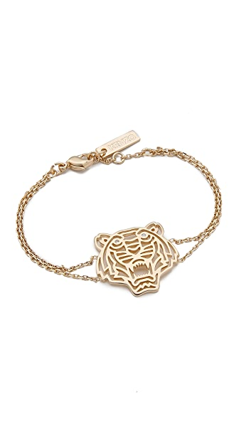 KENZO Tiger Bracelet - Gold