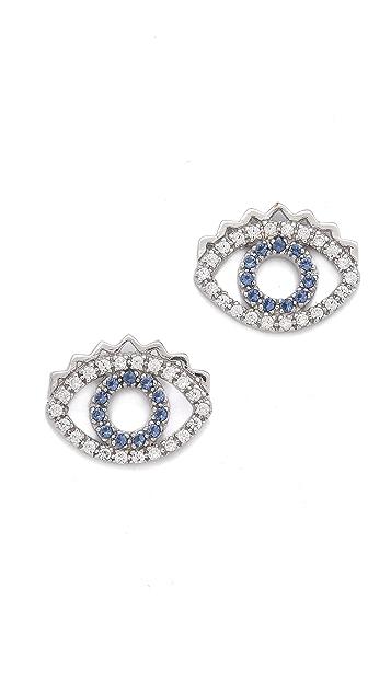 KENZO Mini Eye Earrings