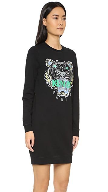 KENZO KENZO Tiger Sweater Dress