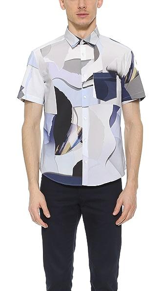 KENZO Paper Short Sleeve Shirt