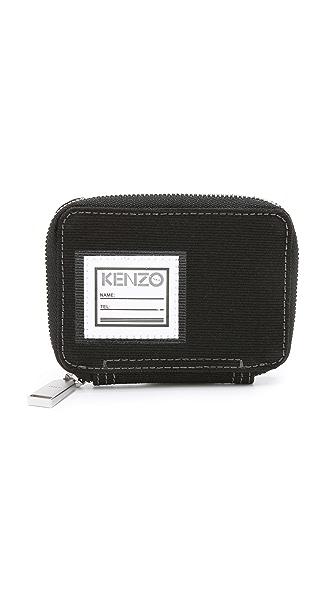 KENZO Kanvas Zipped Wallet