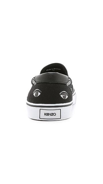 KENZO Slip On Sneakers