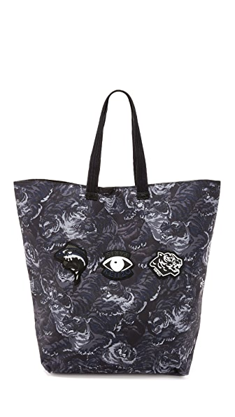 KENZO Essentials Large Tiger Tote