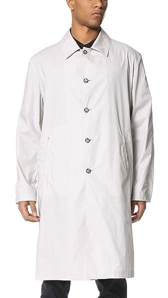 KENZO Poplin Overcoat