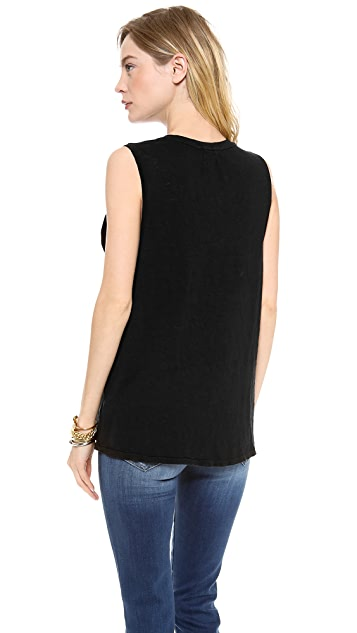 KORAL Sleeveless Muscle Tee