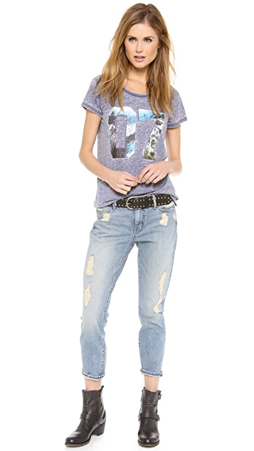 KORAL Relaxed Crop Skinny Jeans