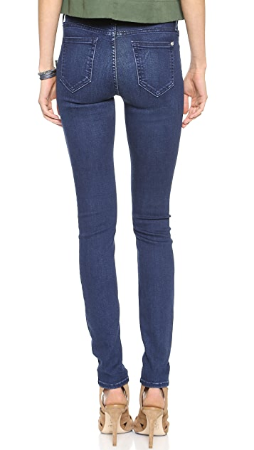 KORAL Mid Rise Skinny Jeans