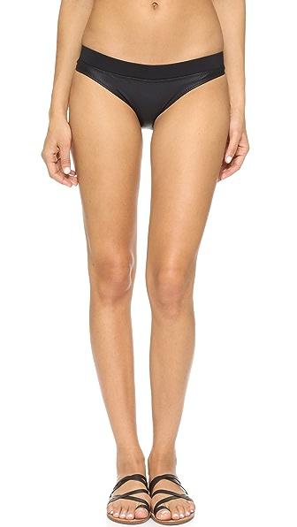 Kore Swim Brizo Bikini Bottoms - Onyx at Shopbop